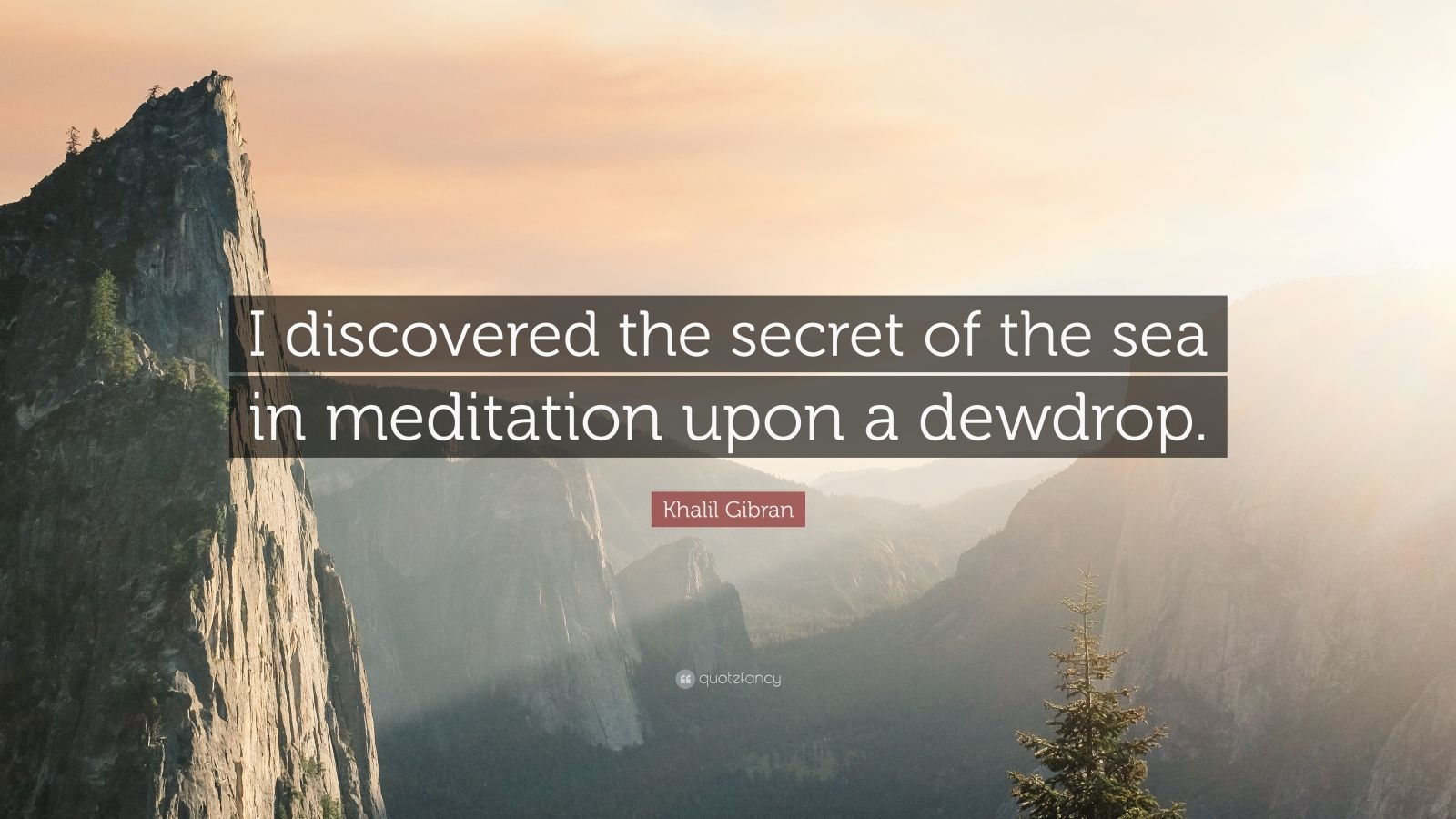 """Quotes About Discovery Inspired By The Ocean: Khalil Gibran Quote: """"I Discovered The Secret Of The Sea"""