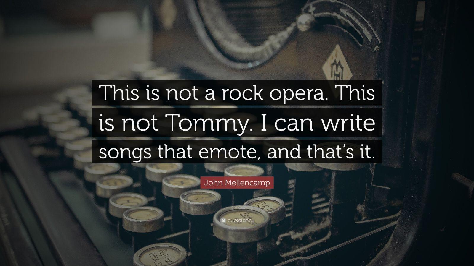 How to Write an Opera