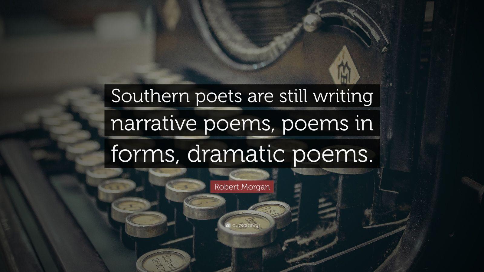 Robert Morgan (poet)