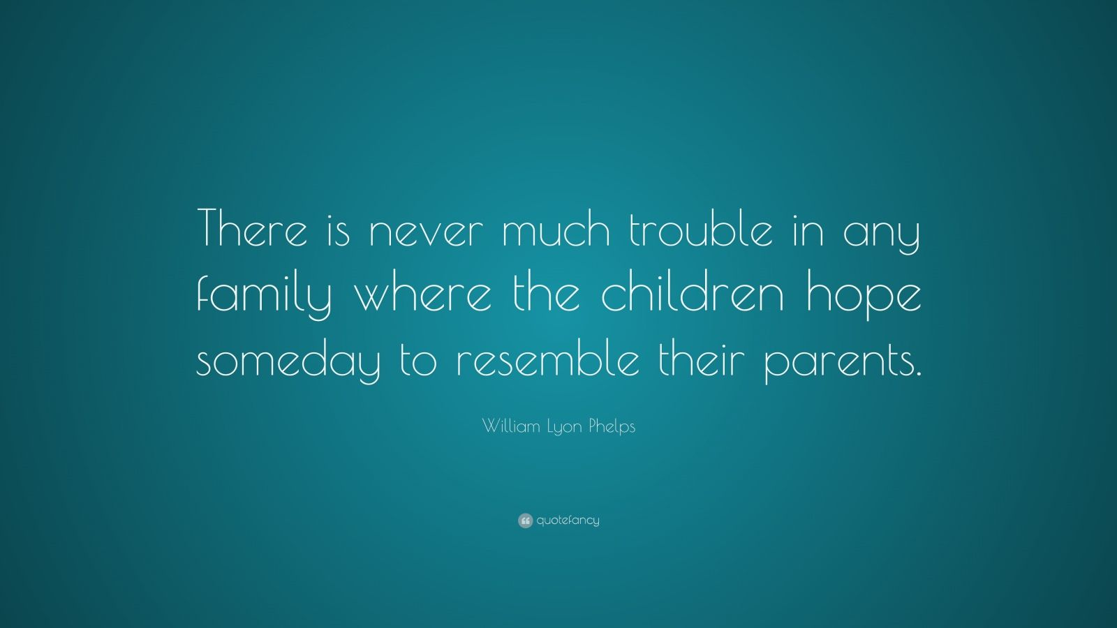 "William Lyon Phelps Quote: ""There Is Never Much Trouble In"