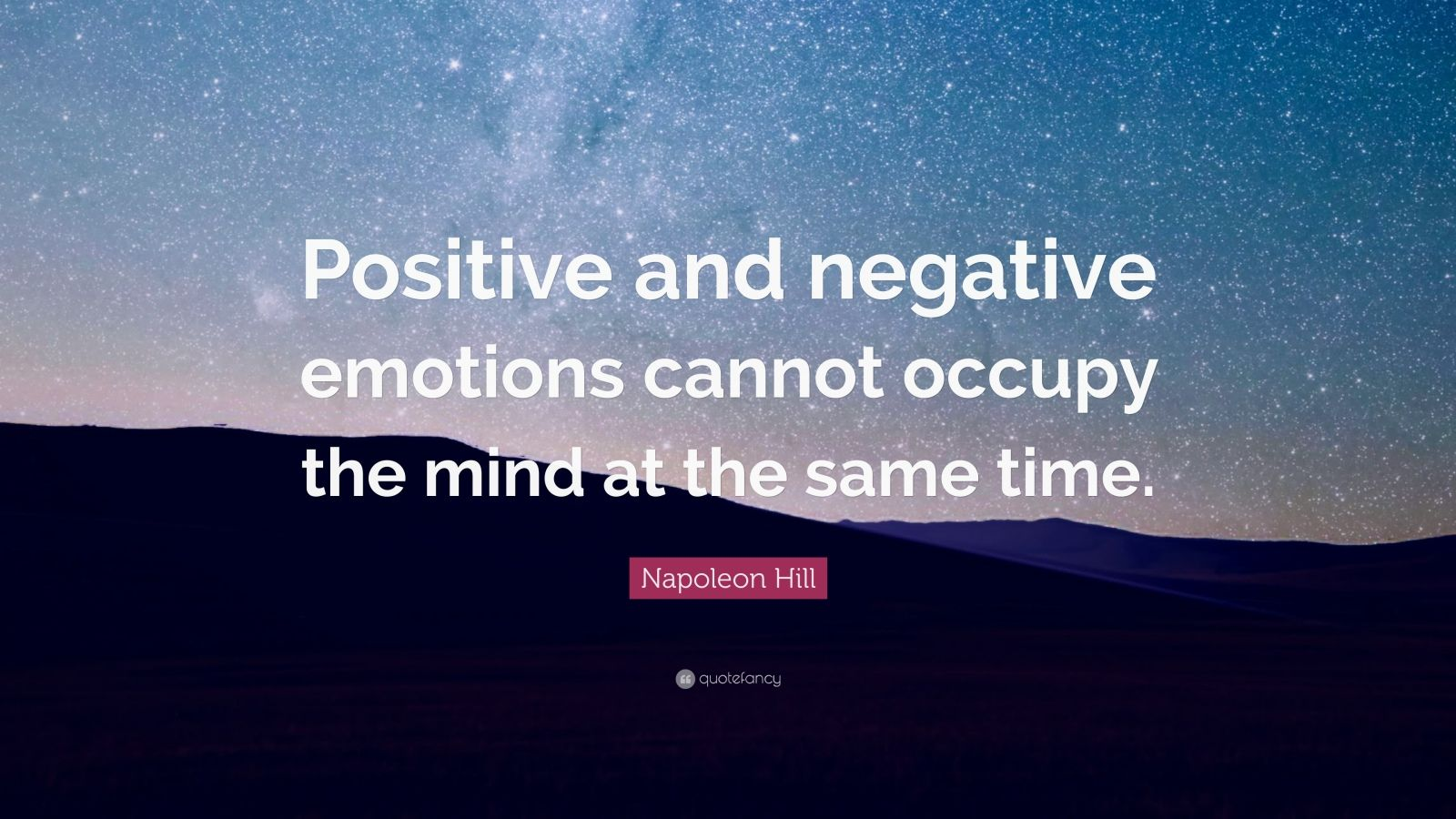 positve and negative emotions