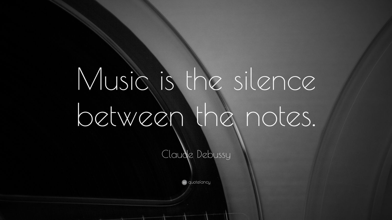"Claude Debussy Quote: ""Music Is The Silence Between The"