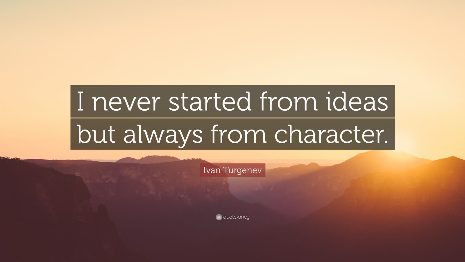 Ivan Turgenev The word tomorrow was invented for people indecisive - and for children I as a child calmed myself with this magic word
