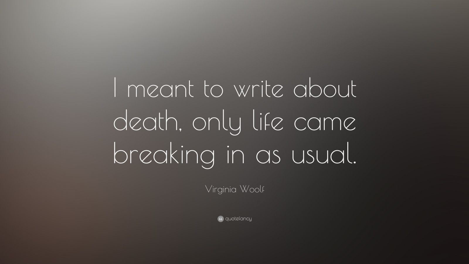how to write about death