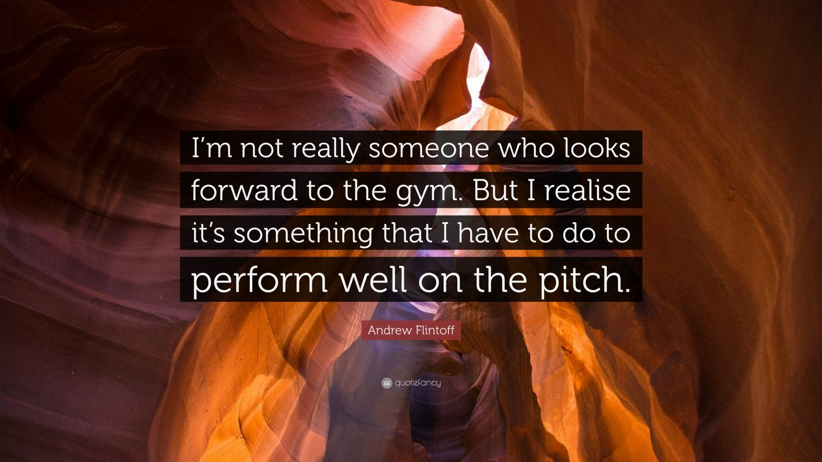 """Andrew Flintoff Quote: """"I'm not really someone who looks ..."""