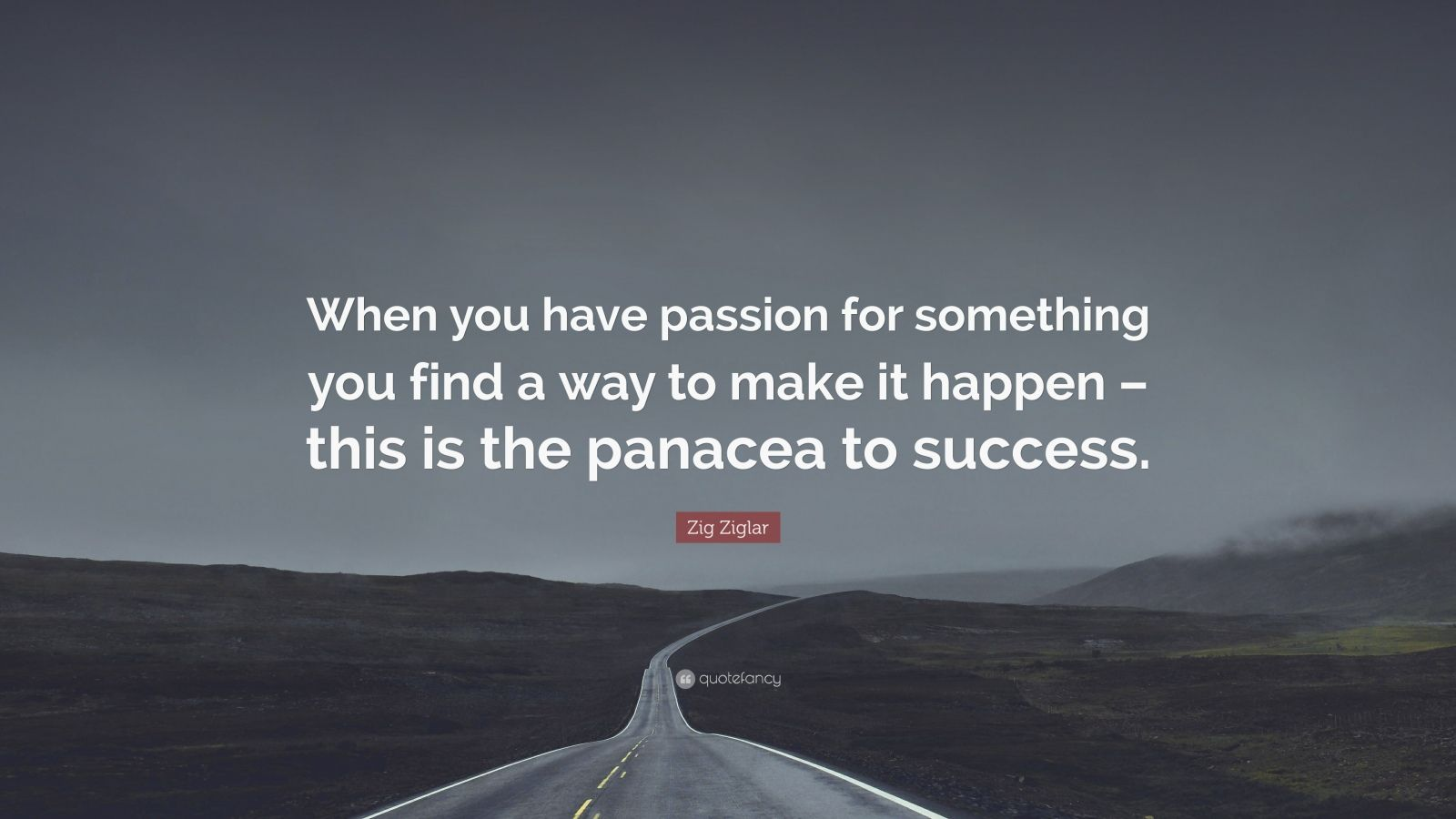 zig ziglar quote   u201cwhen you have passion for something you
