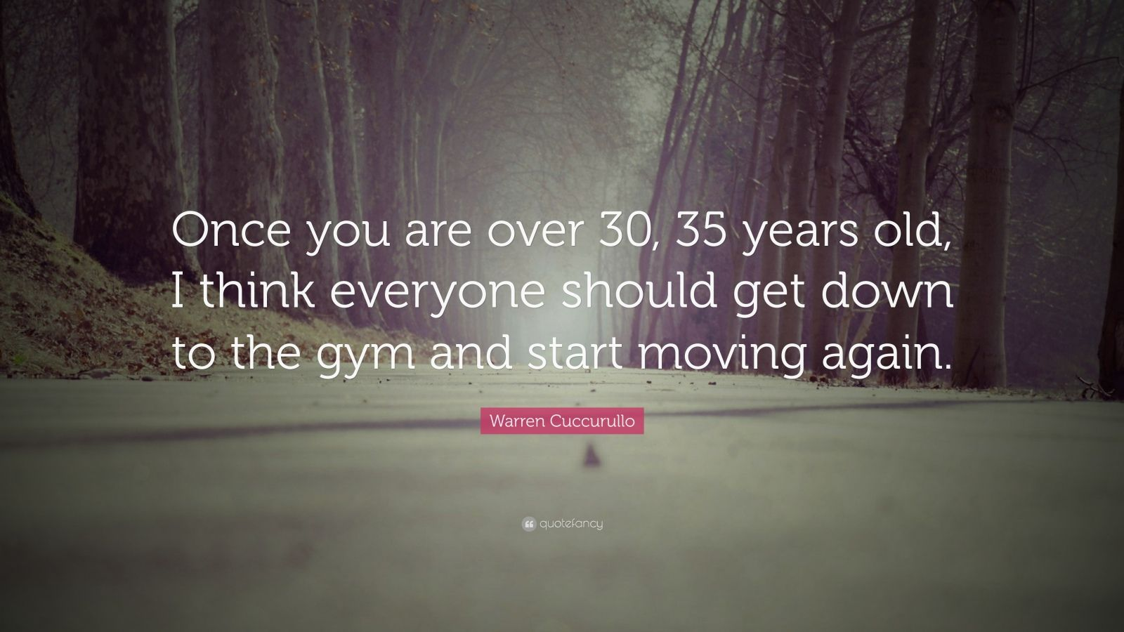 "Quotes About Being 35 Years Old: Warren Cuccurullo Quote: ""Once You Are Over 30, 35 Years"