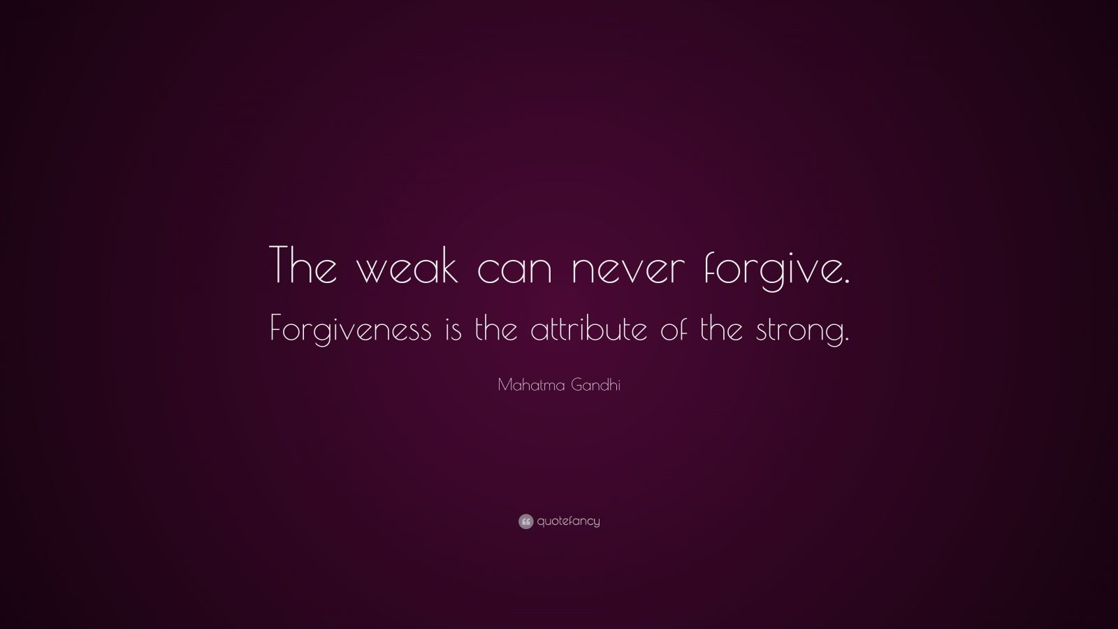 essay on forgiveness is the attribute of the strong
