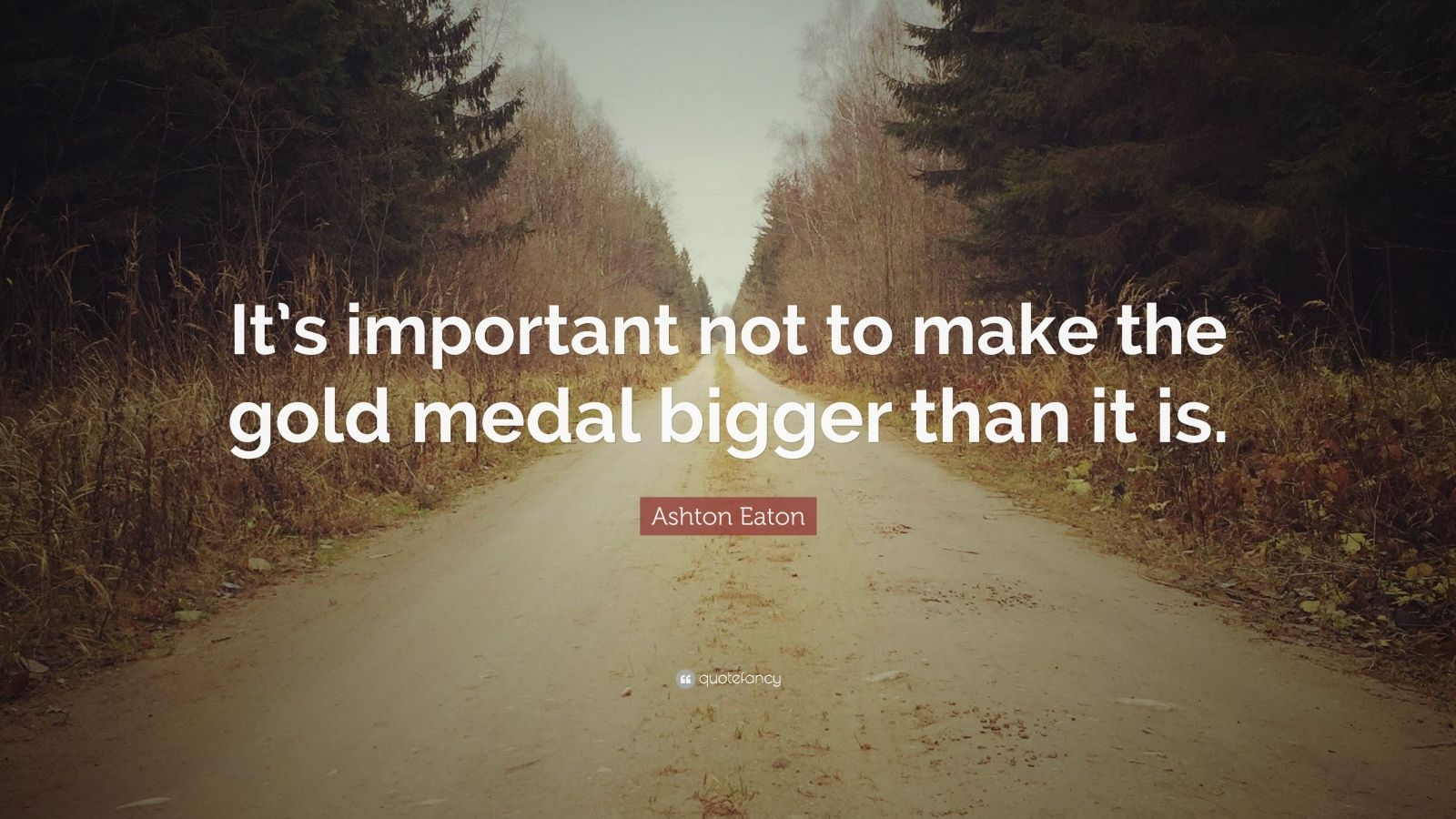 "Hubert Selby Jr Quotes: Ashton Eaton Quote: ""It's Important Not To Make The Gold"