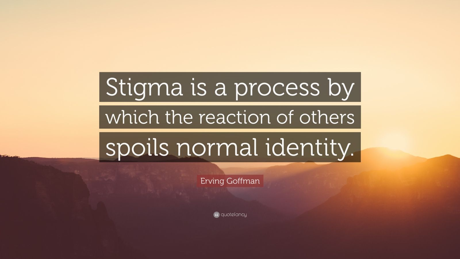 stigma as a process by which the The stigma process is entirely contingent on access to social, economic and political power that allows the identification of differentness, the construction of stereotypes, the labeling of persons as different and the execution of disapproval and discrimination.