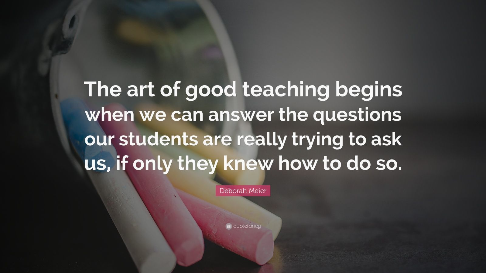 good teaching is an art as Learning from creative teachers how do good teachers do teachers with musical and artistic interests found many ways to weave music or art into their teaching.