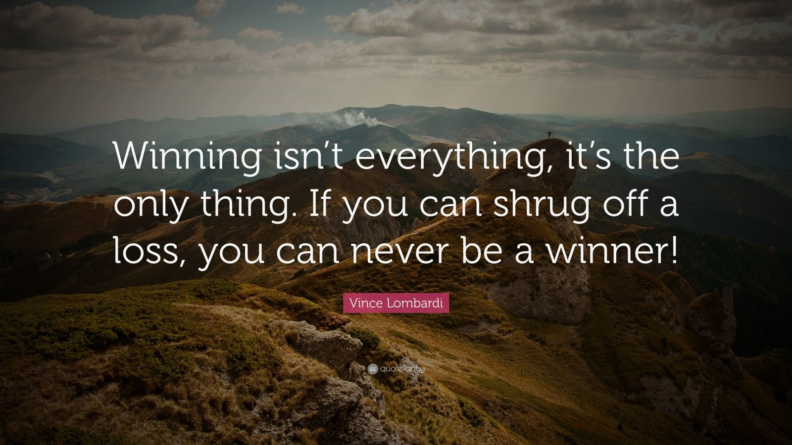 essay on winning Before i entered the coaching world i used to believe that winning wasn't everything now i believe that winning really is everything, for the moment winning is not important, really but.