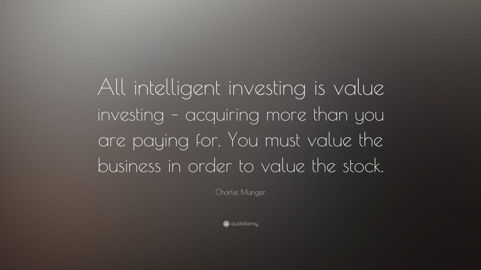 value investing quotes