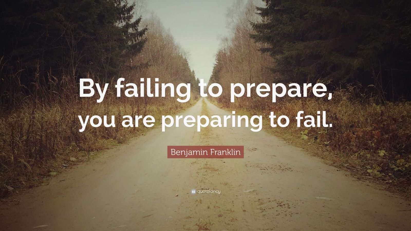 """by failing to prepare you are """"by failing to prepare you are preparing to fail"""" -benjamin franklin all we need to do is turn on the news any given night and we will hear about disasters happening around the world."""