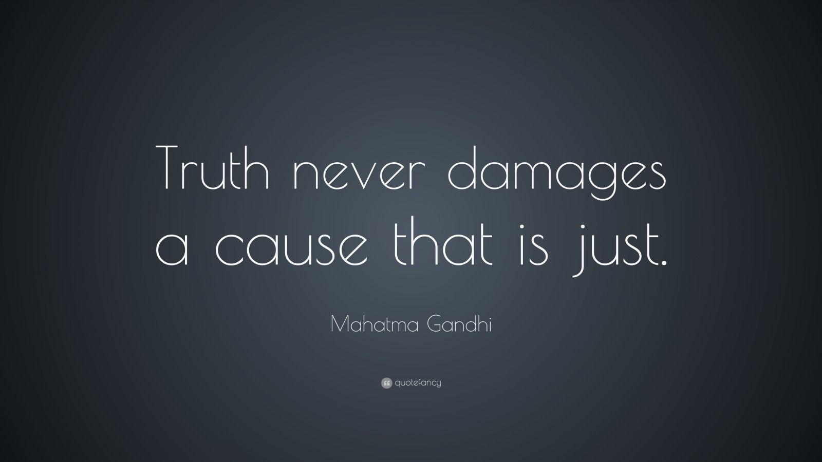 Mahatma Gandhi Quotes Truth