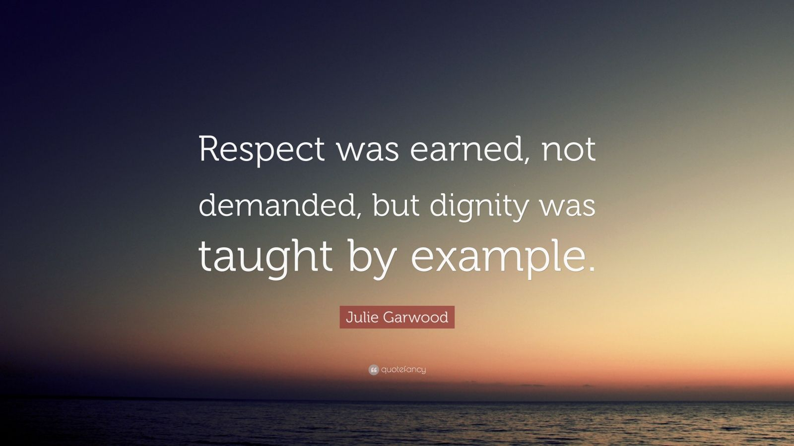 respect is earned Yes, teachers deserve respect, no matter what no brands don't deserve respect automatically, they must earn it, and so on and on but this blog is about the word respect in the context of the relationship between parents and their kids.