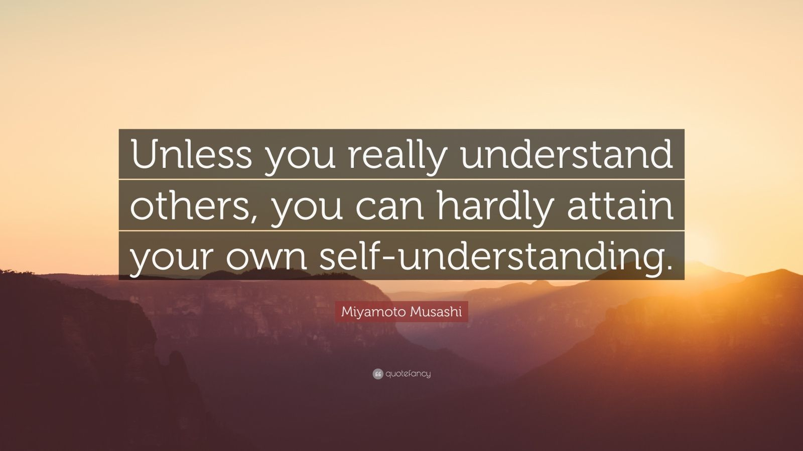 a discussion of understanding your own self Again, you check those that seem most to apply to you and then confirm your self-understanding the ability to understand one's own actions.
