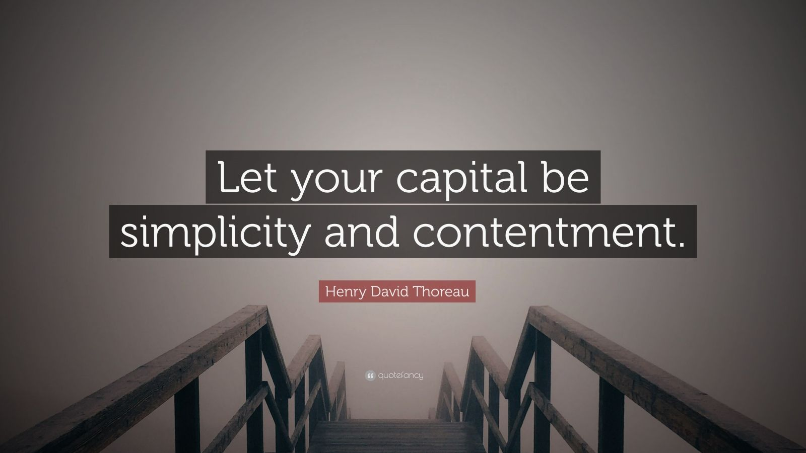 Henry David Thoreau Simplicity Quotes