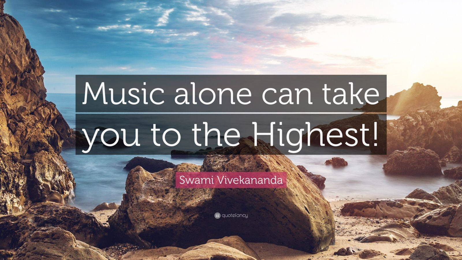 "Swami Vivekananda Quote: ""Music alone can take you to the Highest!"""