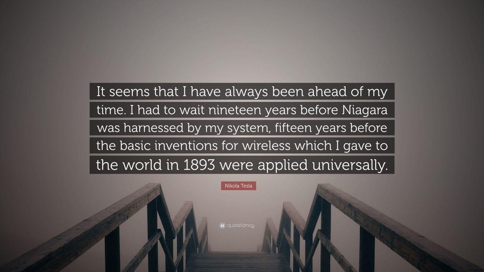 Nikola Tesla Quotes 100 Wallpapers Quotefancy