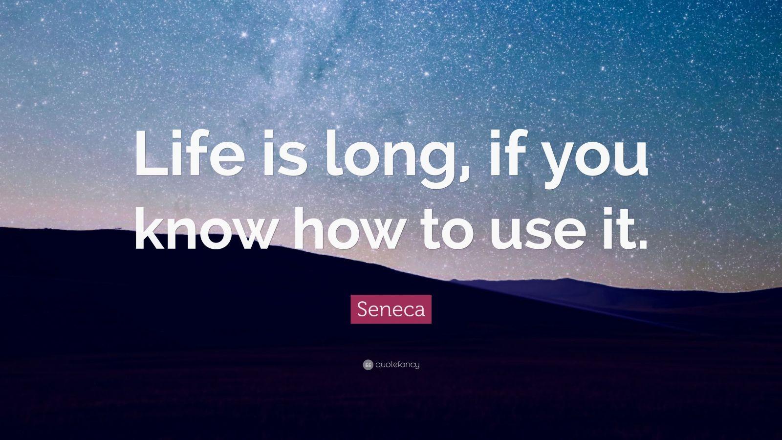 Seneca Quotes (55 Wallpapers)
