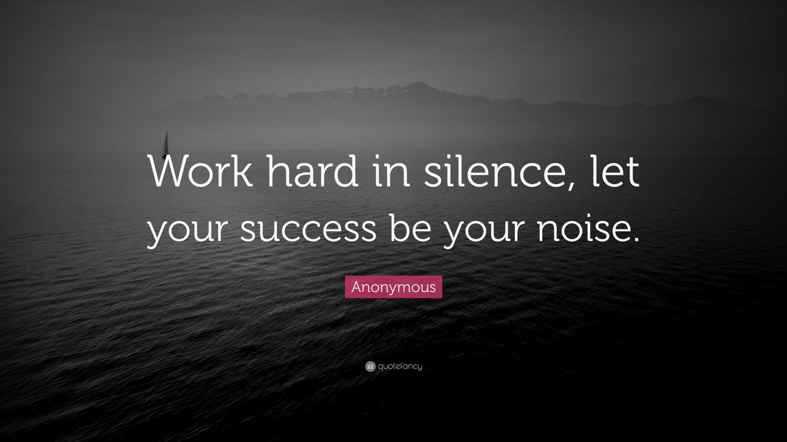 "Frank Ocean Quote: ""Work hard in silence, let your success be your noise."""