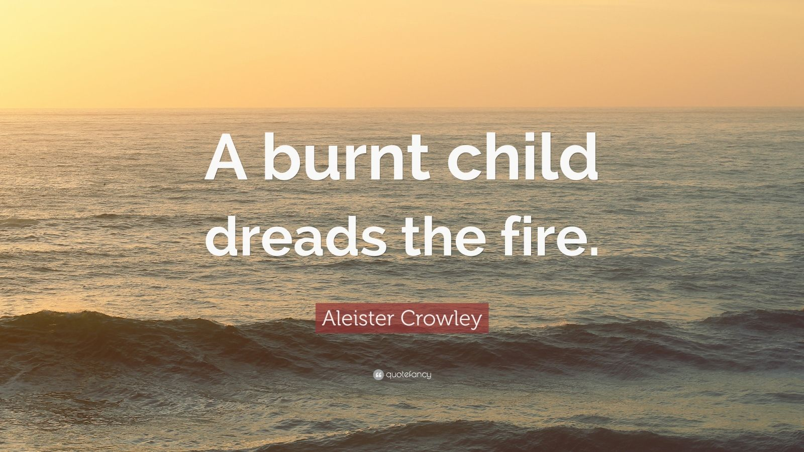 a burnt child dreads fire Free essays on a burnt child dreads the fire essay get help with your writing 1 through 30.