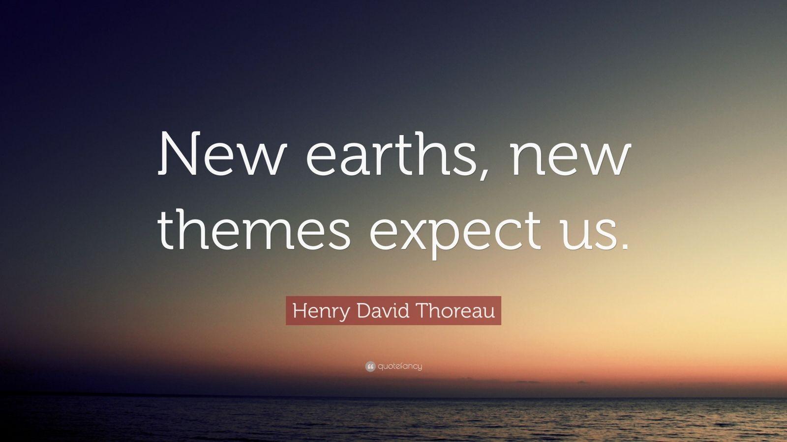 henry david thoreau themes