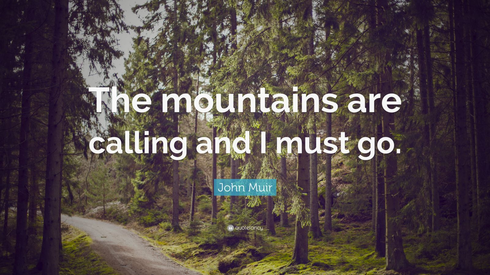 john muir quote �the mountains are calling and i must go
