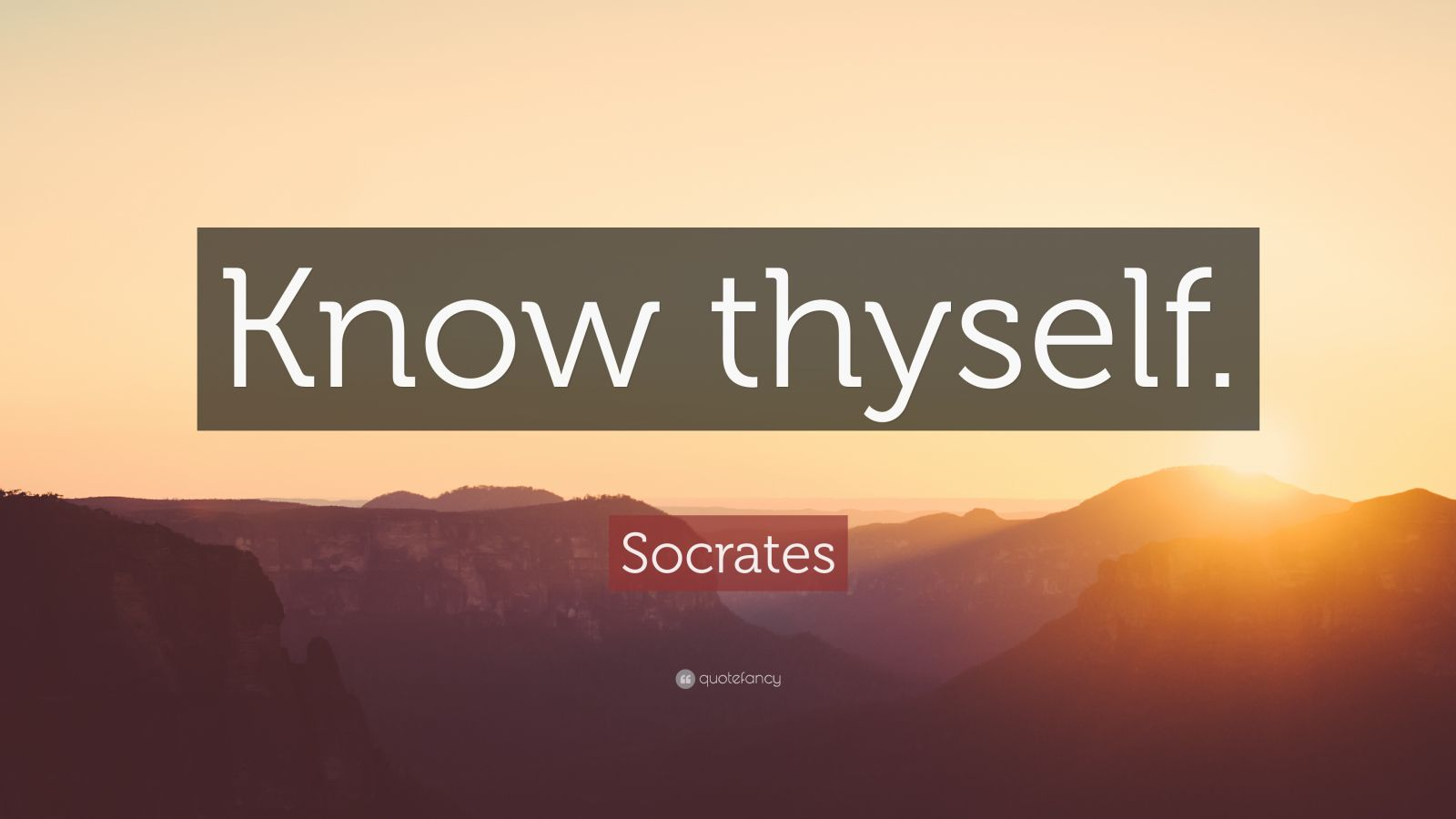 Socrates Quote Ldquo Know Thyself Rdquo 32 Wallpapers Quotefancy
