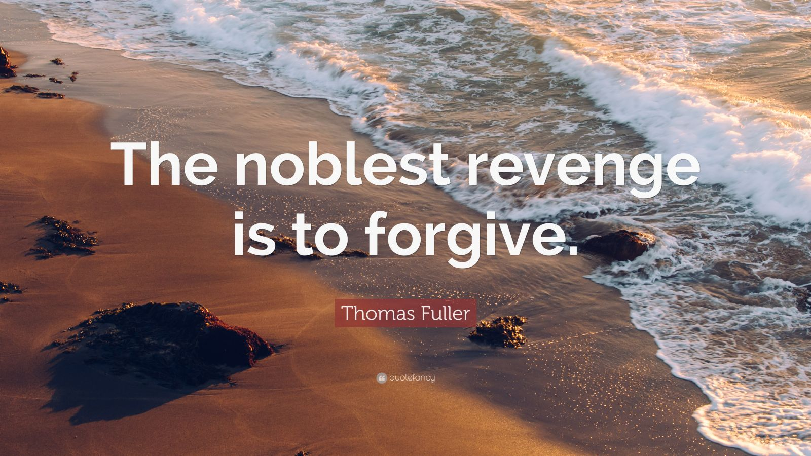 essay on forgiveness is the noblest revenge