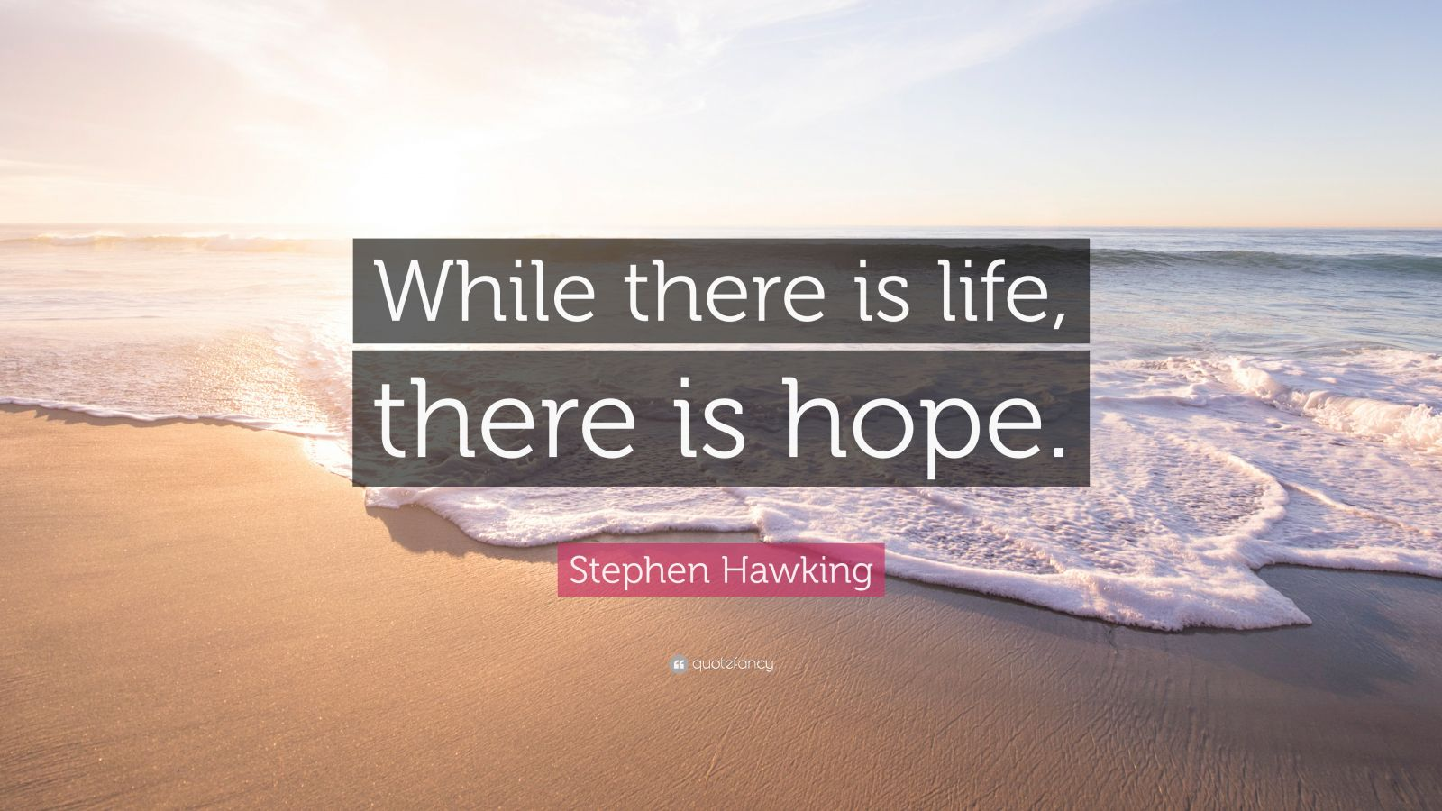 """when there is life there is hope Browse our collection of inspirational, wise, and humorous hope quotes and  hope sayings  where there's life, there's hope theocritus (c270 bc) """" we  must."""