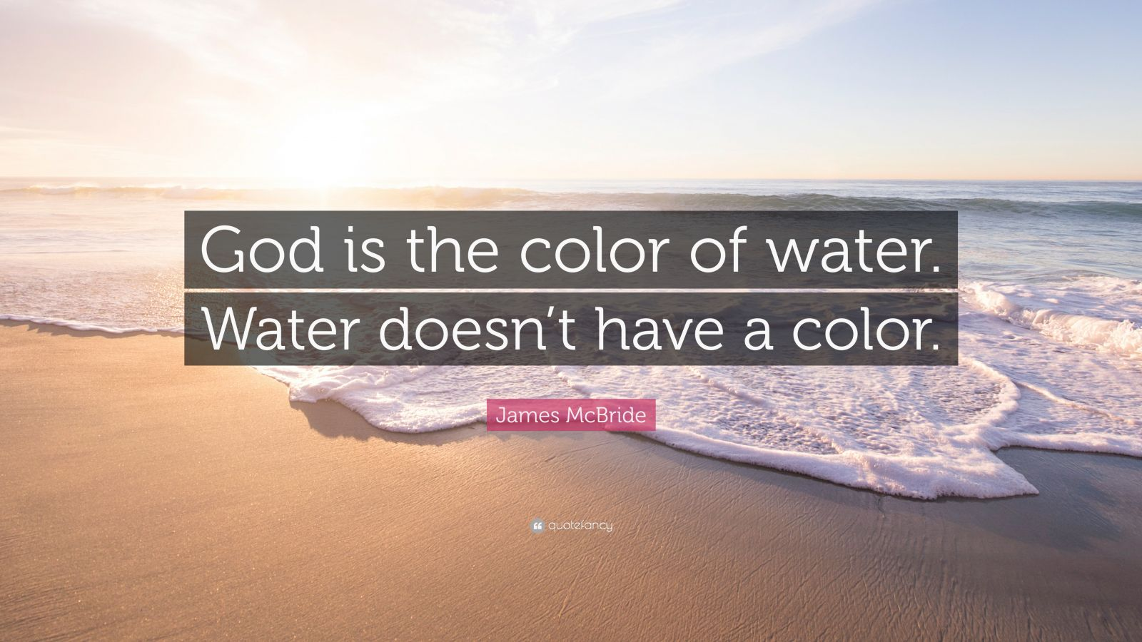 james mcbride the color of water James mcbride is an award winning writer and musician he has been a staff writer for the washington post,people magazine and the boston globe he is best known for his memoir, best selling color of water.