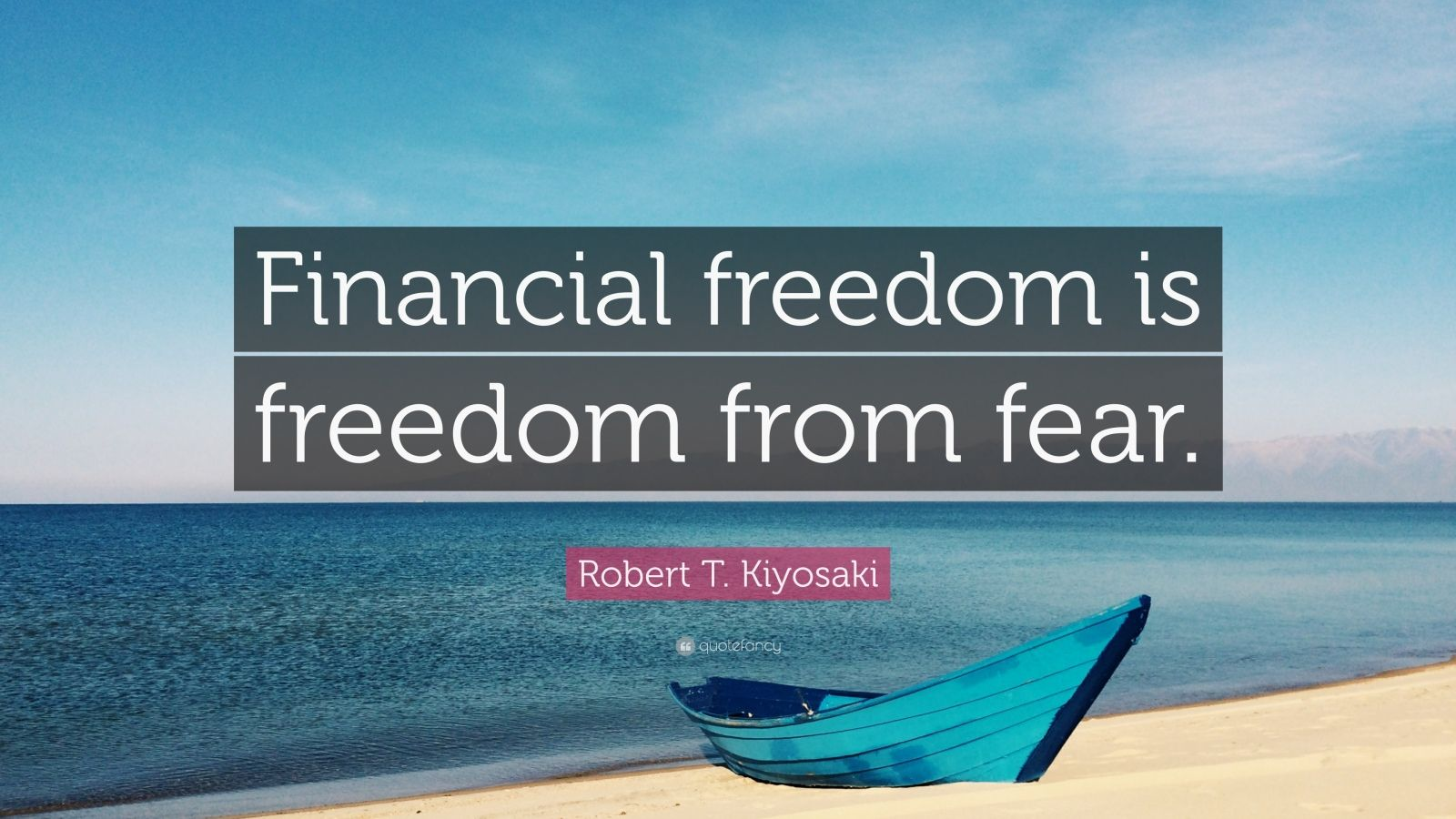 Financial Freedom Quotes Classy Robert Tkiyosaki Quotes 100 Wallpapers  Quotefancy
