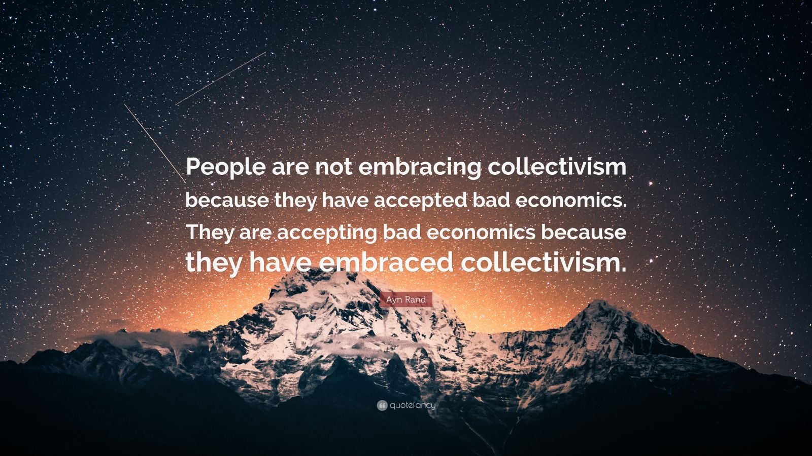 an analysis of ayn rands views about collectivism