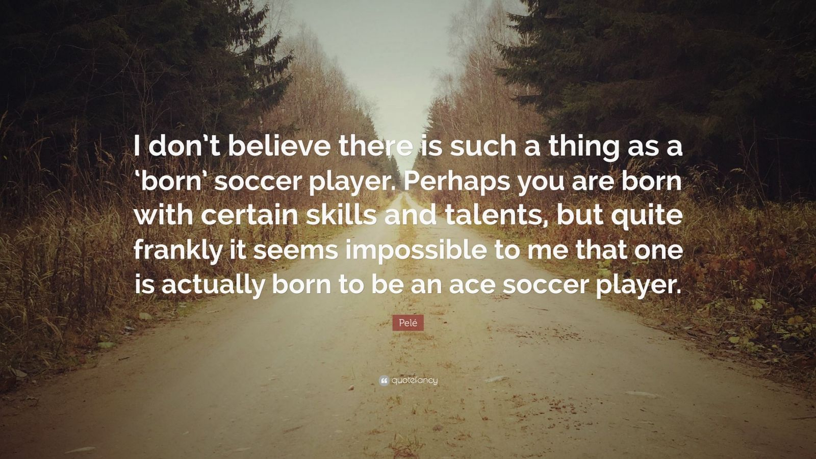 people are born with certain talents