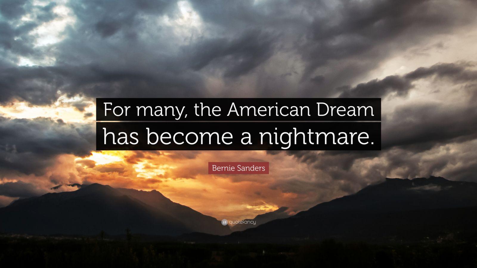 American dream or nightmare essay