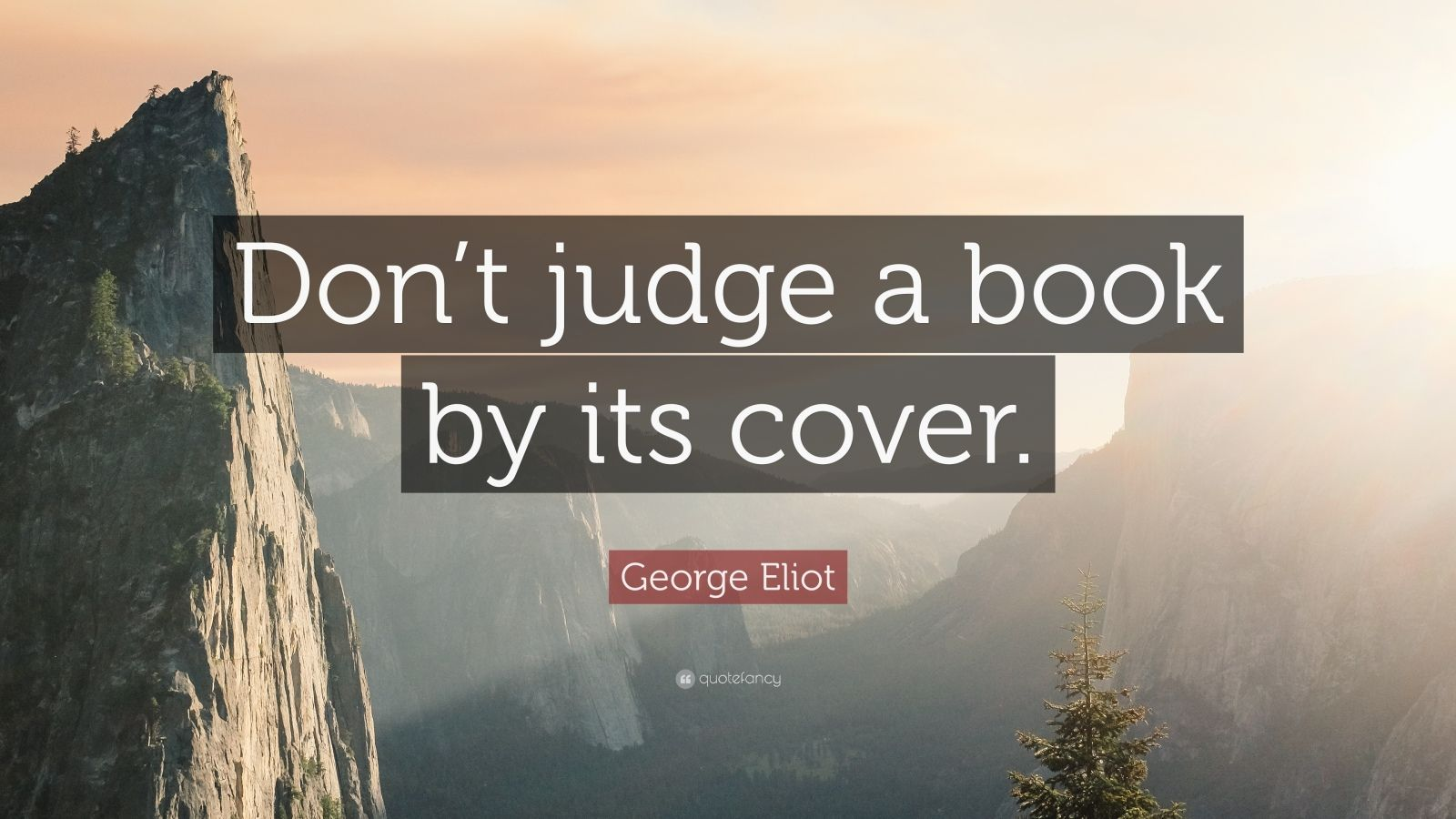 "an essay on never judge a book by its cover Above it there is a sign that reads: ""do you judge a book by its cover"" the  rules are if you unwrap a book—based on the short description."