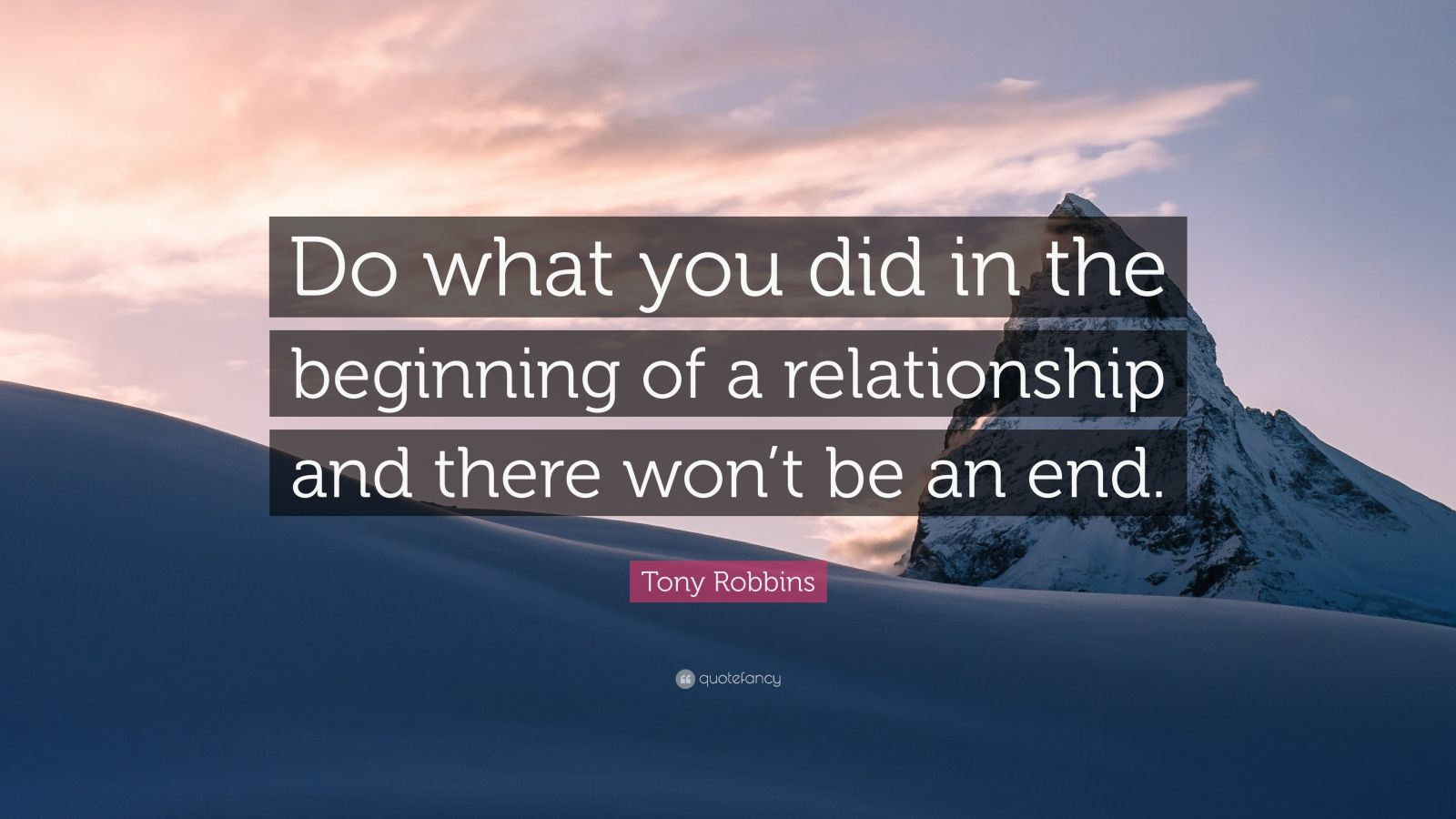 What to do in the beginning of a relationship