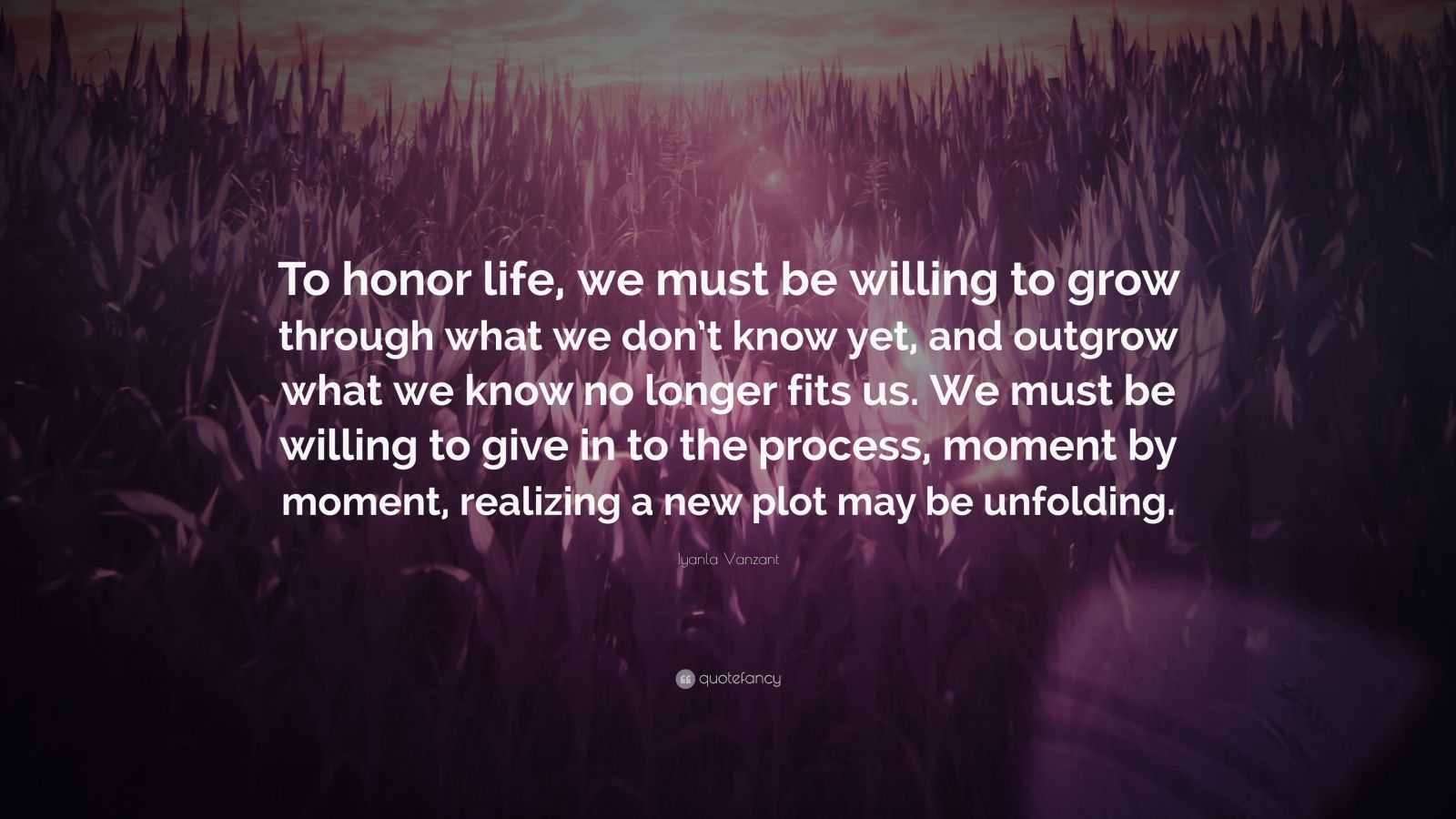 """We Mock What We Don T Understand Quote: Iyanla Vanzant Quote: """"To Honor Life, We Must Be Willing"""
