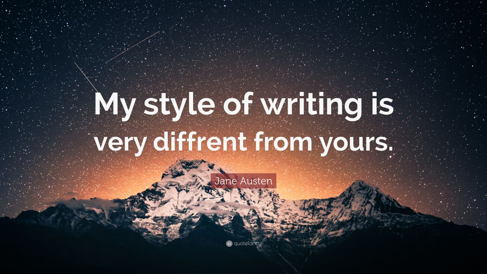 jane austens style of writing