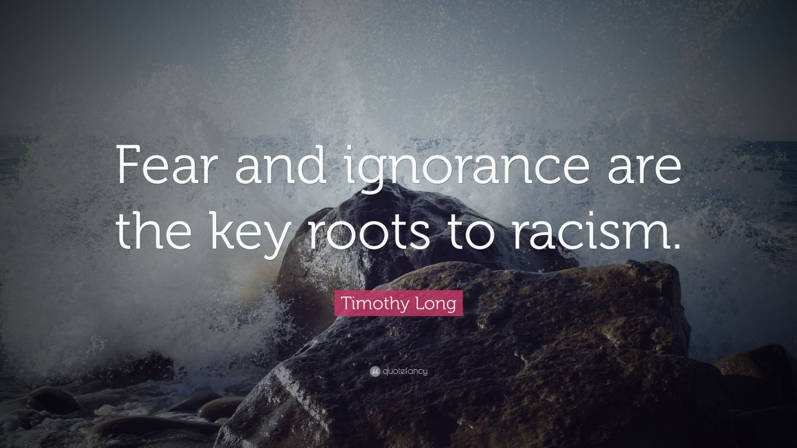 ignorance fear racism Stereotypes and prejudices can be found by understanding how violence of this magnitude can evolve out of prejudice based on ignorance, fear, and racism anthropologists, scientists who study humans and their origins.