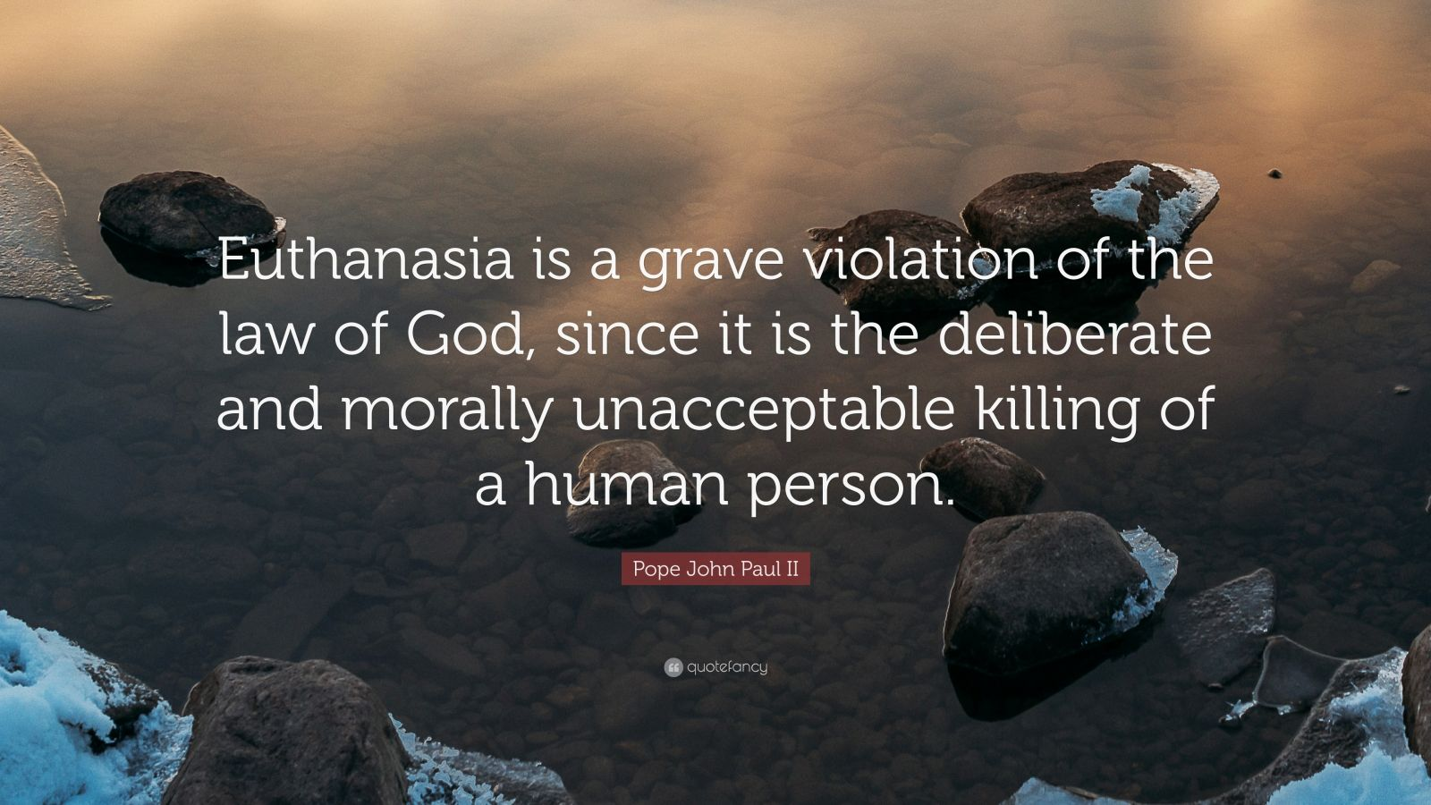 is euthanasia morally
