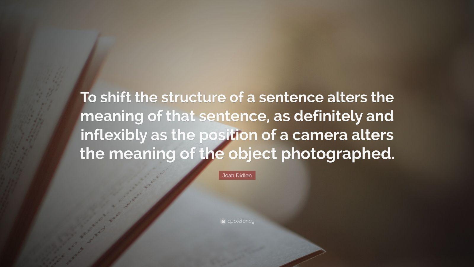 Sentence rearranger