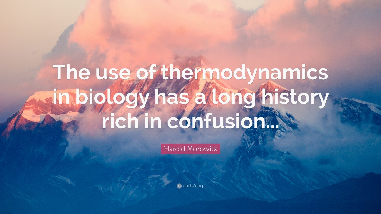 an introduction to the life and history of harold morowitz Introduction-bio-energetics of life processes-prof mainak  week 1 :  introduction to bioenergetics week 2  foundations of bioenergetics by harold  morowitz.