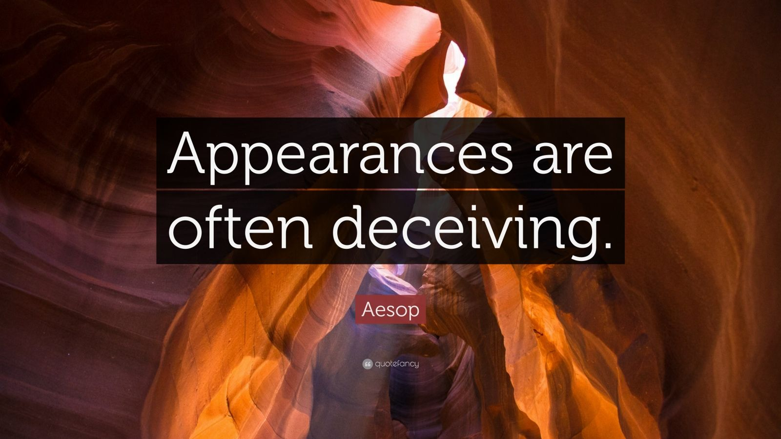 appearances are often deceptive essay This article focuses on how appearances are important to school children essays related to appearance are destructive 1 and often times leads to.