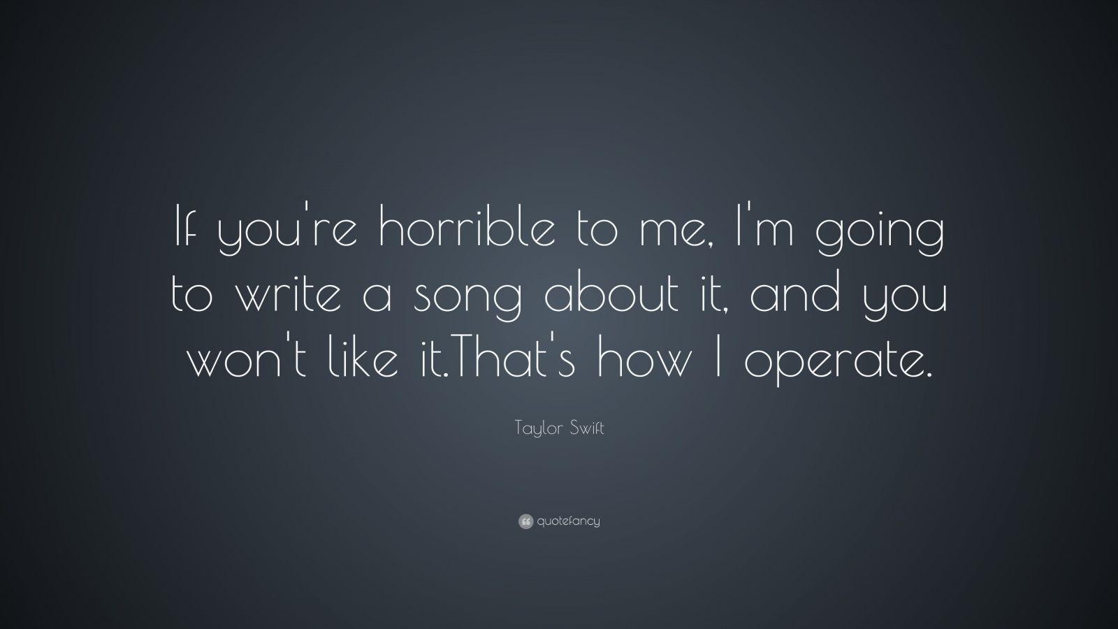 write a you song