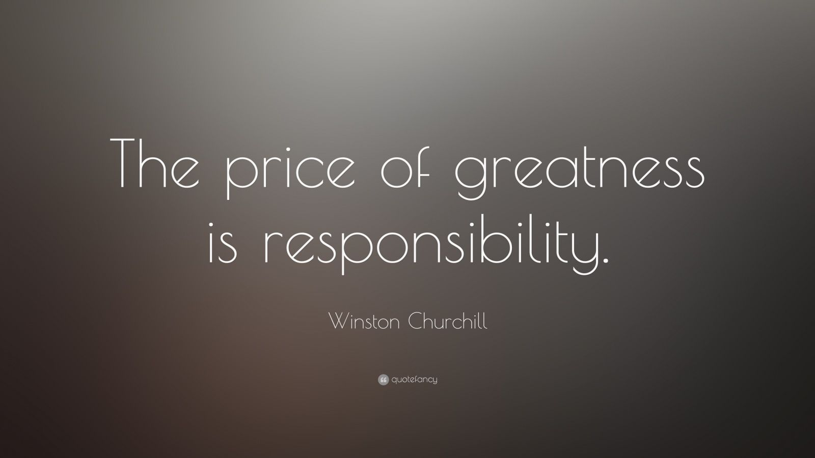 the price of greatness is responsibility winston churchill quotefancy. Black Bedroom Furniture Sets. Home Design Ideas