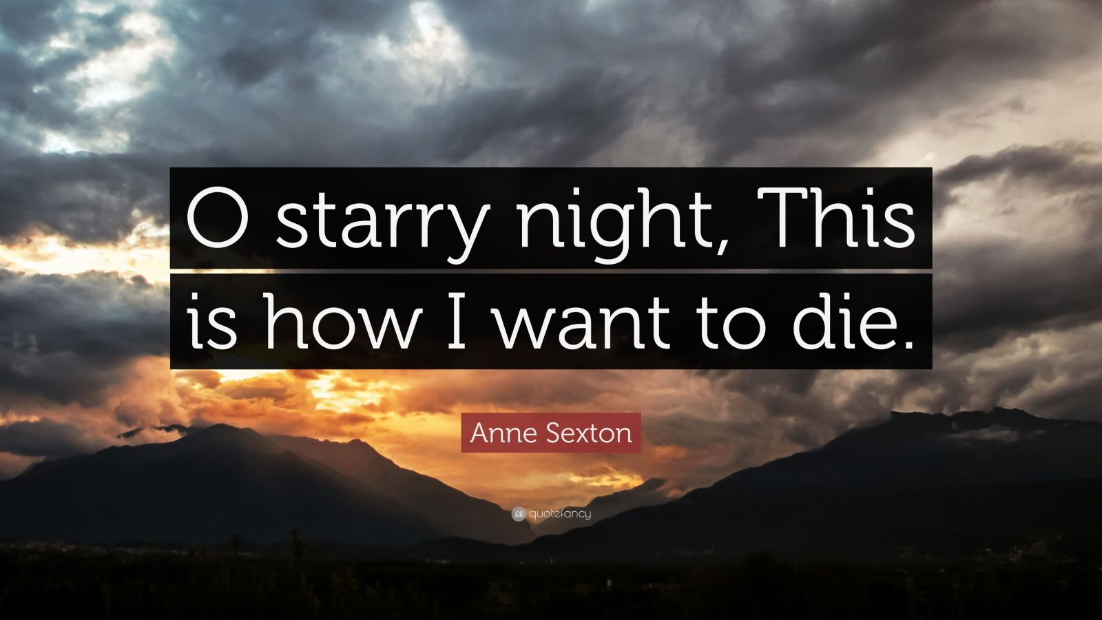 anne sexton the starry night essay