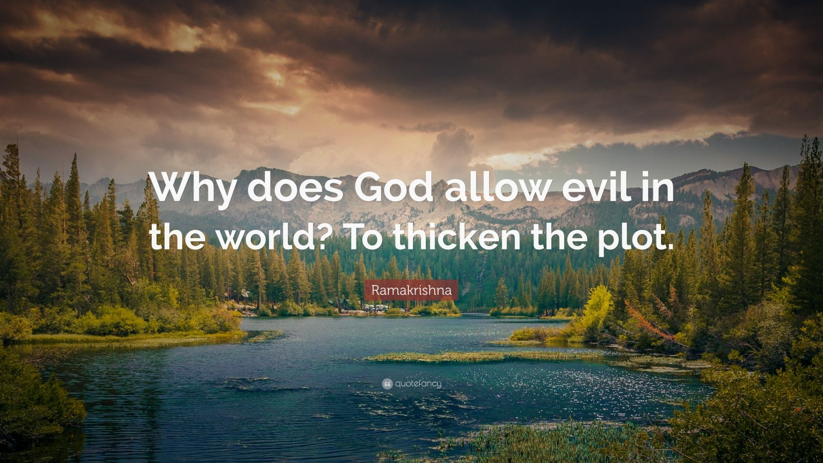 why god allows evil So, if both of these are true, why does god allow evil if god has the power to prevent evil, and desires to prevent evil, why does he not prevent evil perhaps a good way to look at this issue would be to consider some alternative situations for how people might have god run the world.